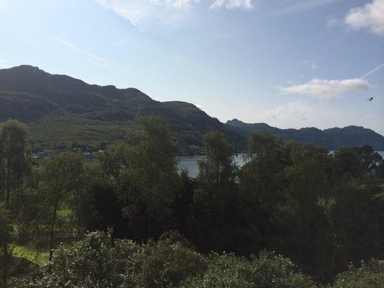 Drimsynie Estate Holiday Village: Room with a view