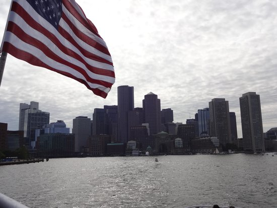 Boston Harbor Cruises : Distant view from the Harbor