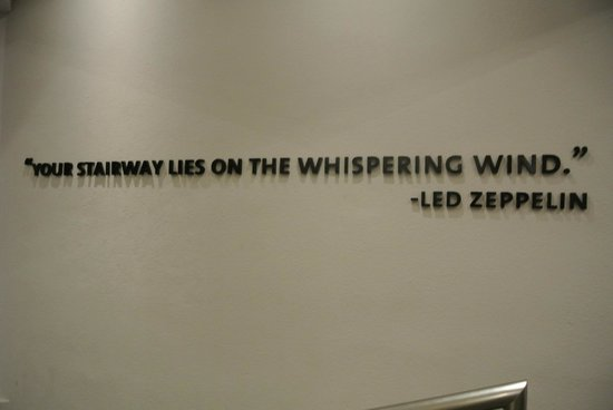 Led Zeppelin Music Quote At Heaven Picture Of Hard Rock Hotel