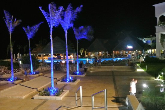 Hard Rock Hotel Riviera Maya: Night view at Heaven