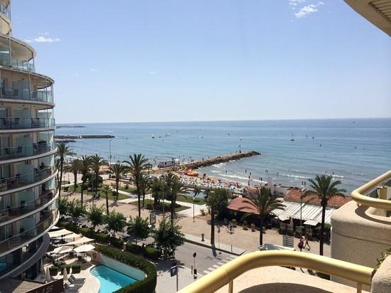 Mediterraneo Sitges Hotel & Apartments: balcony view