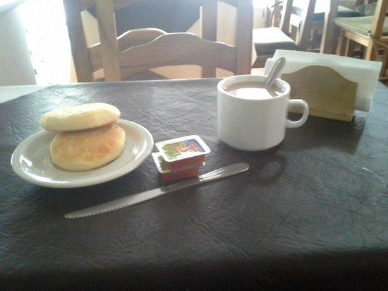 Hotel Rio Diamante : desayuno