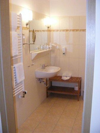 Hotel Gut Voigtländer: Our bathroom
