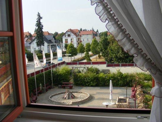 Hotel Gut Voigtländer: View from our window