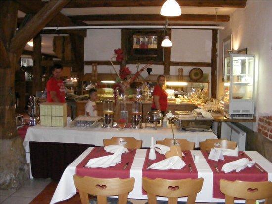Hotel Gut Voigtländer: Breakfast Buffet
