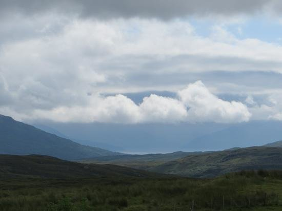 Skye Shepherd Huts: the view from that was beautiful even in grey weather