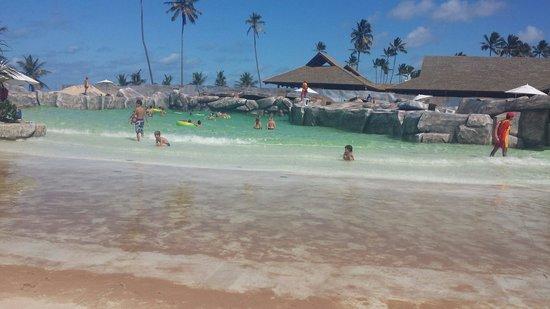 Enotel Acqua Club Porto de Galinhas: Praia de ondas artificiais.