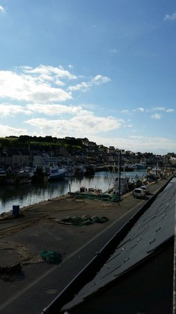 Ibis Bayeux Port en Bessin : The lovely view from our bedroom window.