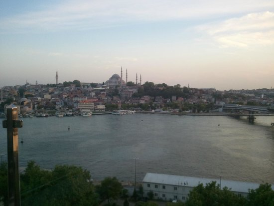 Istanbul Golden City Hotel: Vista da cobertura do hotel