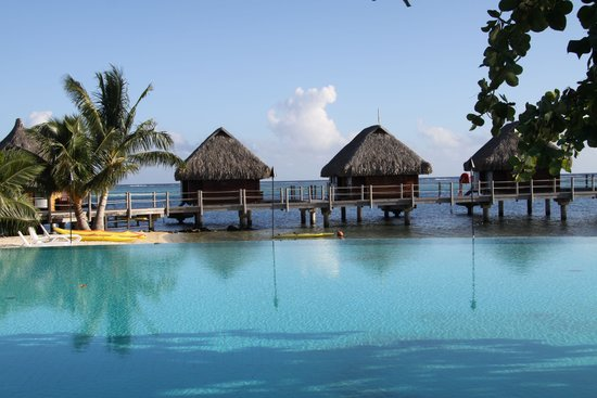 Manava Beach Resort & Spa - Moorea : general surroundings pool