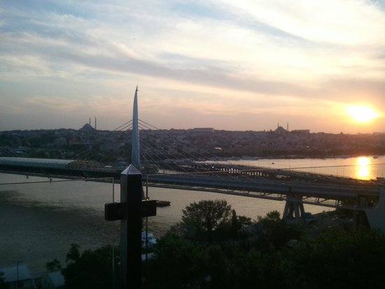 Istanbul Golden City Hotel: Vista da cobertura do hotel