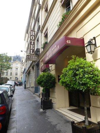 Agora Saint Germain: Entrance to hotel
