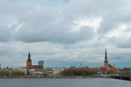 Radisson Blu Daugava Hotel, Riga: Beautiful view!