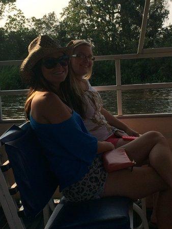 Brookgreen Gardens : On the pontoon ride!