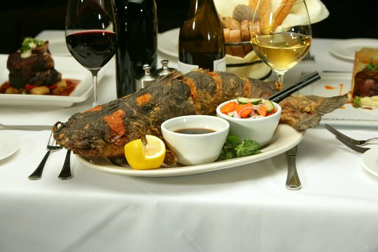 Parkway Grill: Whole Ginger Fried Catfish