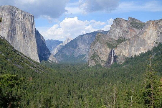 Tunnel View : THE View