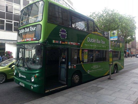 DoDublin: Green bus