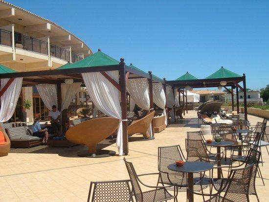 Atlantica Imperial Resort & Spa: lobby terrace