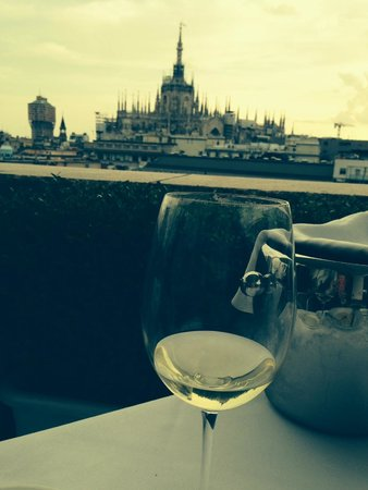 Boscolo Milano, Autograph Collection : View from rooftop Patio