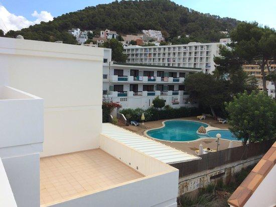 Apartamentos Cala Llonga Playa: vista