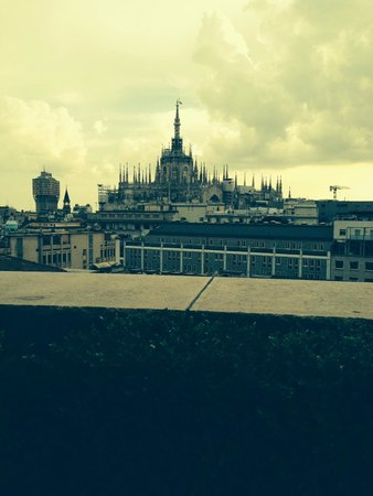 Boscolo Milano, Autograph Collection: View from rooftop patio