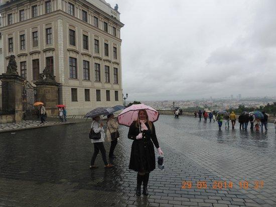 Hotel Majestic Plaza Prague: Caminhando...