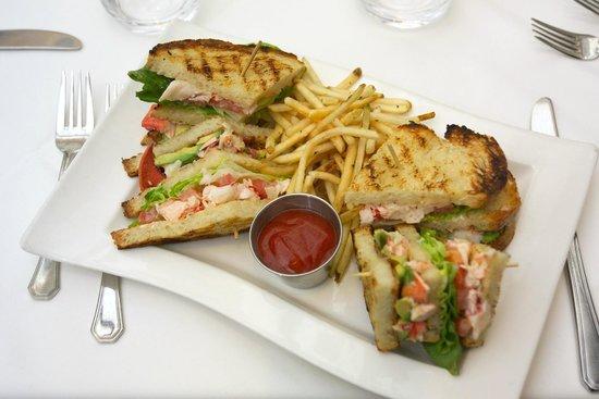 Parkway Grill : Lobster Club Sandwich