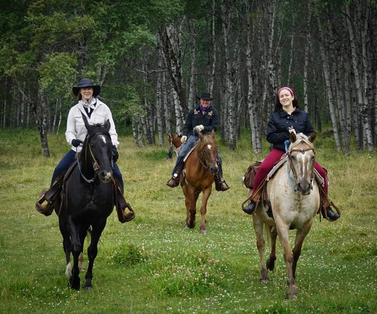 Spruce Hill Resort & Spa : On a ride