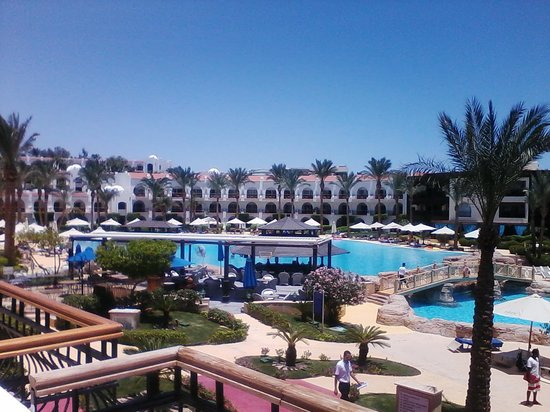 Savoy Sharm El Sheikh: view from 1105 there are 3 pools