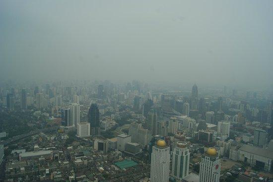 Baiyoke Sky Tower: вид с верхнего этажа