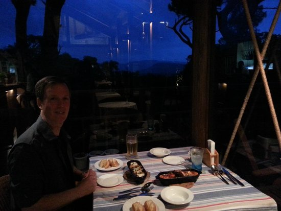 Nilaina Resort: Great dinners and views
