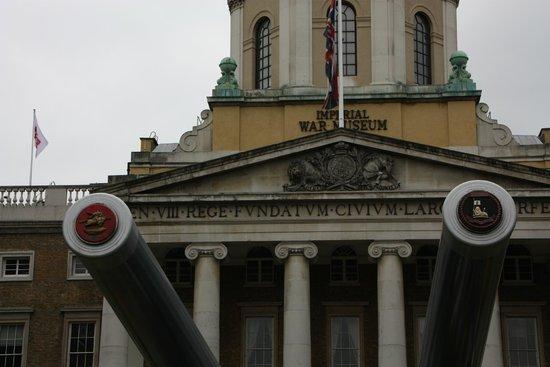 Museo Imperial de la Guerra: Outside
