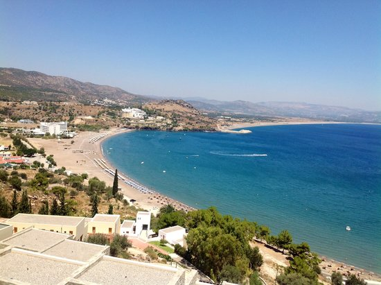 Lindos Blu: View over the Bay