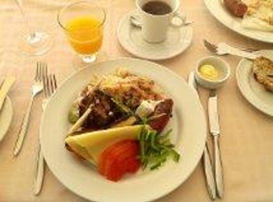Lindos Blu: Breakfast