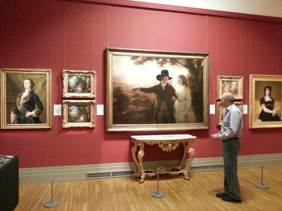 Galería Nacional de Irlanda en Merrion Square: посетитель