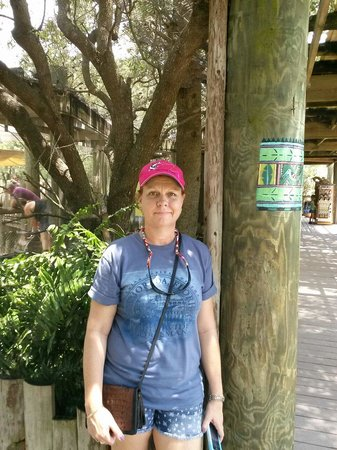 Brevard Zoo: Great day with my hubby