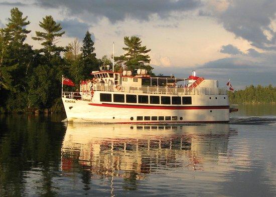 M S Kenora Cruise Boat