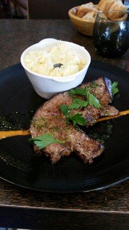 Bac: Foie de veau poilé et purée maison