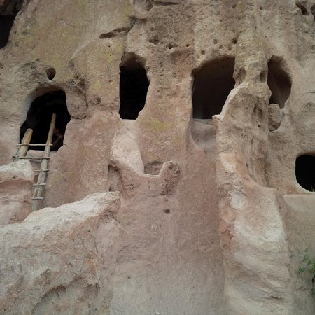 Bandelier National Monument : Bandelier Dwellings