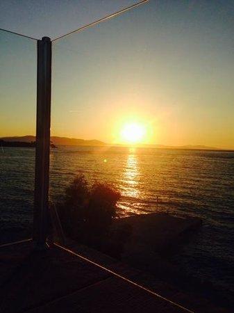 Kalem Island Oliviera Resort : sunset