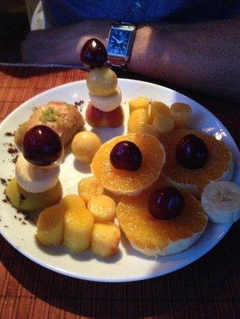 Pumpkin Goreme Restaurant and Art Gallery: dessert