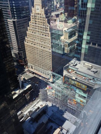 Hyatt Centric Times Square New York: タイムズスクエア方面の眺め