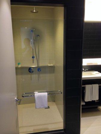 Hyatt Centric Times Square New York : バスルームは広め