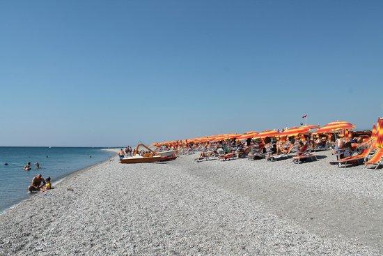 Grand Hotel President: spiaggia