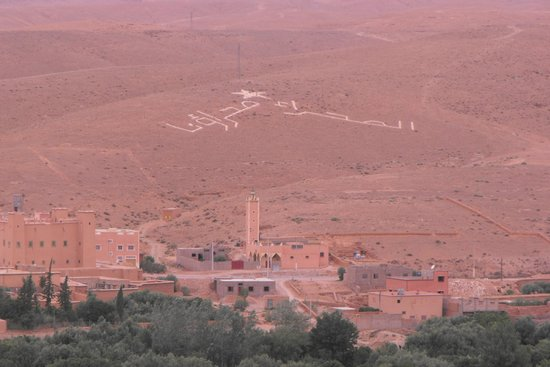 Kasbah Tizzarouine : las vistas desde LAS TROGLODITAS