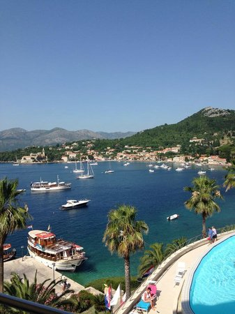 Lafodia Hotel & Resort: View from the balcony