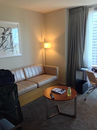 Hyatt Centric Times Square New York: リビングルーム