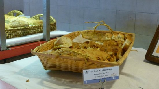 Club Med Turkoise, Turks & Caicos : Famous White Chocolate Bread -- Still delicious!