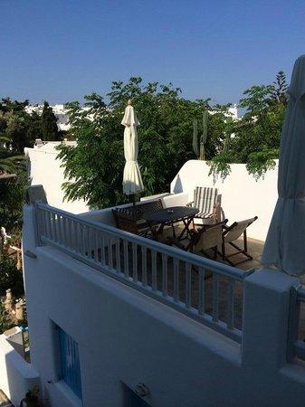 Philippi Hotel: Veranda