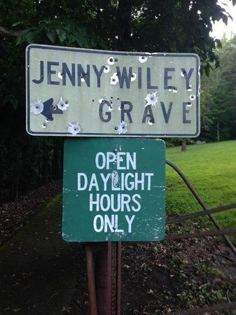 Jenny Wiley Grave Site